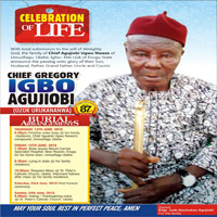 GREGORY IGBO AGUJIOBI's Online Memorial Photo